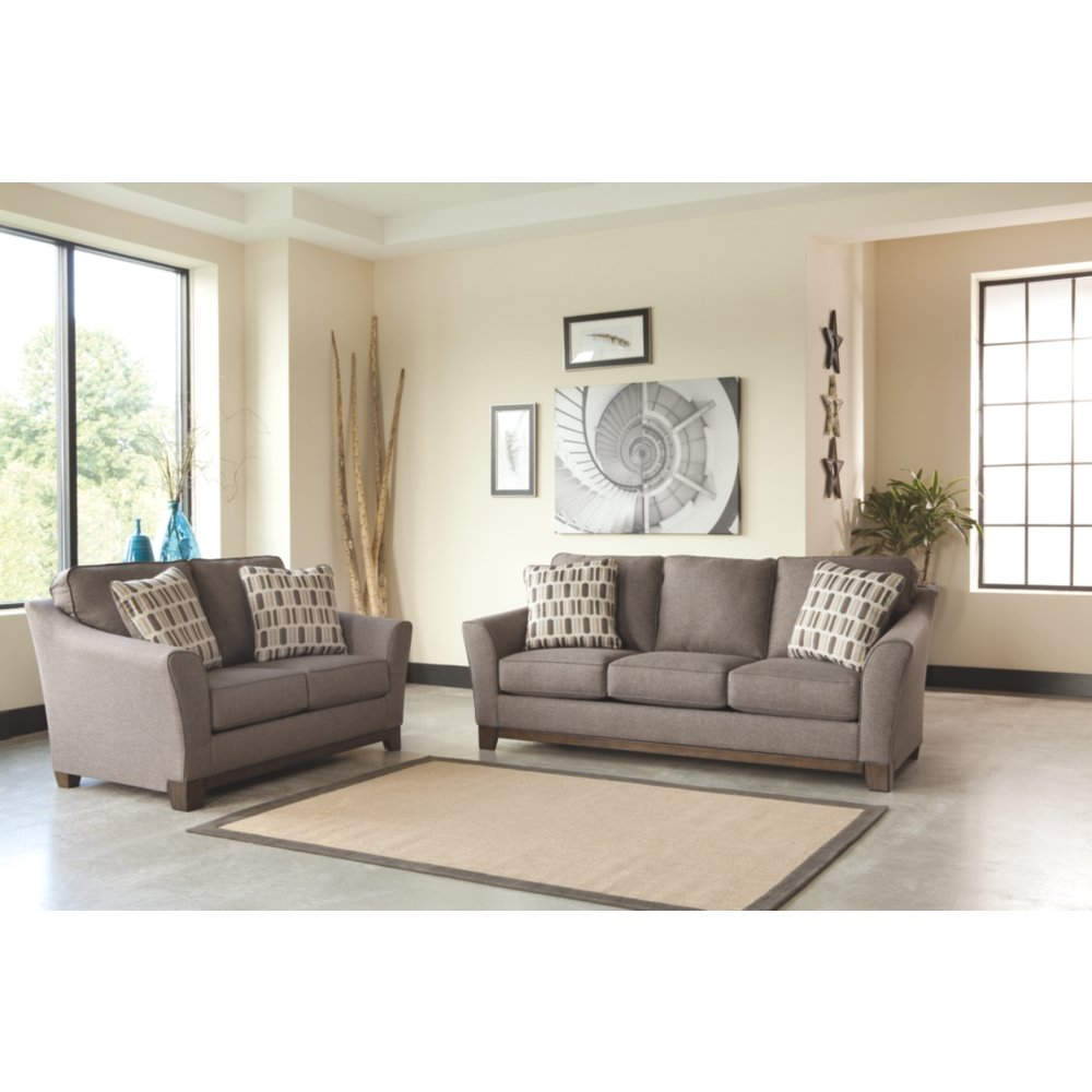white striped loveseat rug living cushion fur occupied fabric casual beige gallant stained pattern sofa comfortably gray green modern furniture and table patterned wall stones leather lamp sage classic natural room set tile