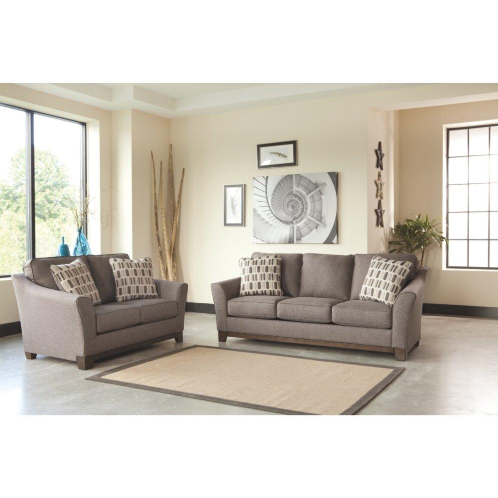 sofa in rose loaf sofas chesterfield listings patterned linen vintage bagsie loveseat floral