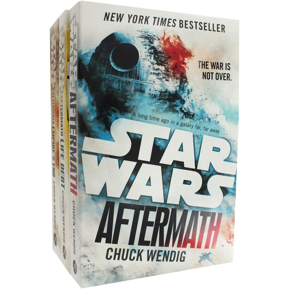 Chuck Wendig Star Wars - Aftermath Trilogy - 3 Book Collection