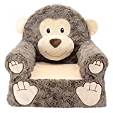 #5: Sweet Seats Adorable Soft Monkey Children's Chair, 14