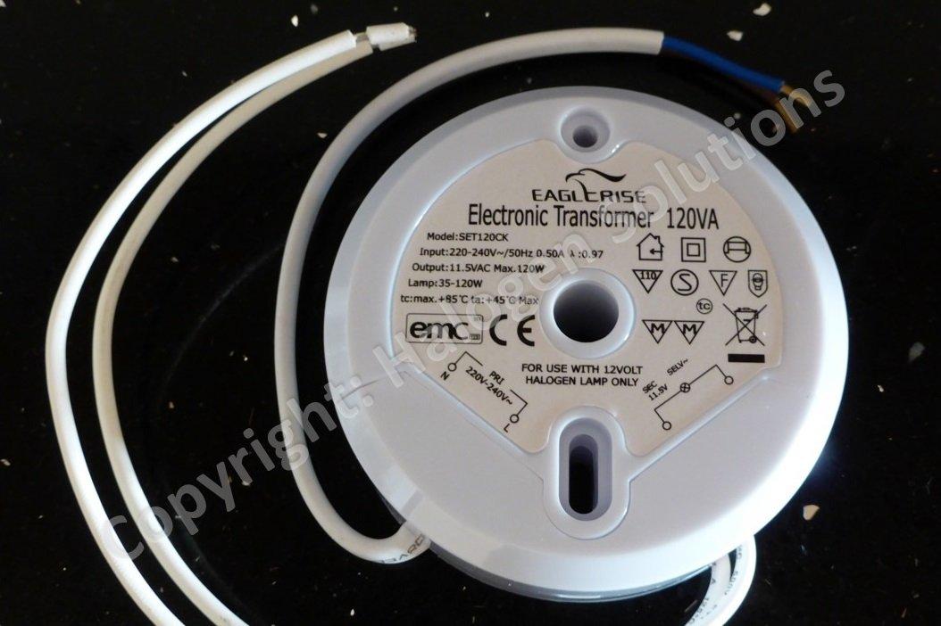 FREE UK P+P!! EAGLERISE SET120CK ELECTRONIC TRANSFORMER 1 YEAR GUARANTEE!!
