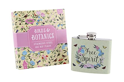 Hip Flask By Sophia Ideal Gift For All Ladies SP1239 Ladies Jitterbug Stainless Steel Hip Flask 3oz Dancing Shoes