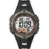 Timex Men's Quartz Watch with LCD Dial Digital Display and  Resin Strap