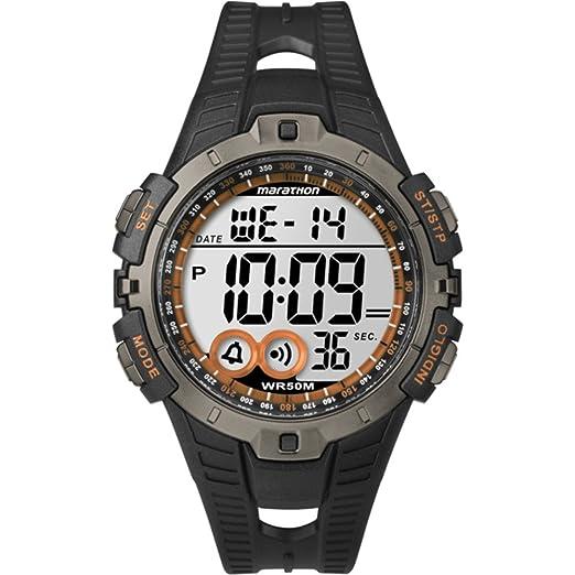 Timex Marathon T5K801 - Reloj de cuarzo unisex, color negro