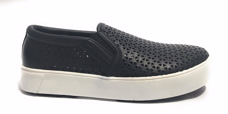 APEPAZZA scarpe donna slip on DLW06/MICROHOLES DREW NERO  Nero