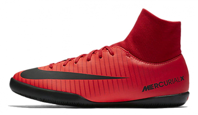 Nike Herren MercurialX Victory VI DF IC Fuszlig;ballschuhe  45 EU Rot (Universit?t)