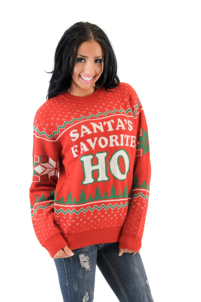 HO Red Ugly Christmas Sweater (Adult Small)