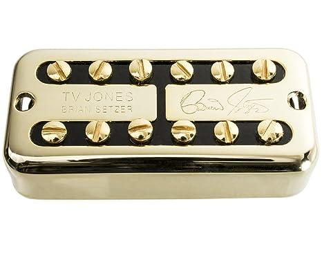 TV Jones Brian Setzer puente posición pastilla de guitarra, oro ...