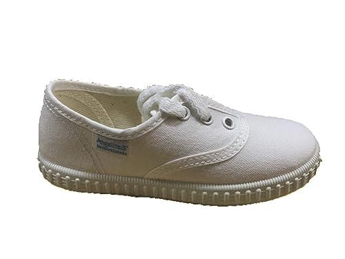 769a29fe Zapatillas de Lona para Niños y Niñas, Angelitos mod.121, Calzado infantil  Made