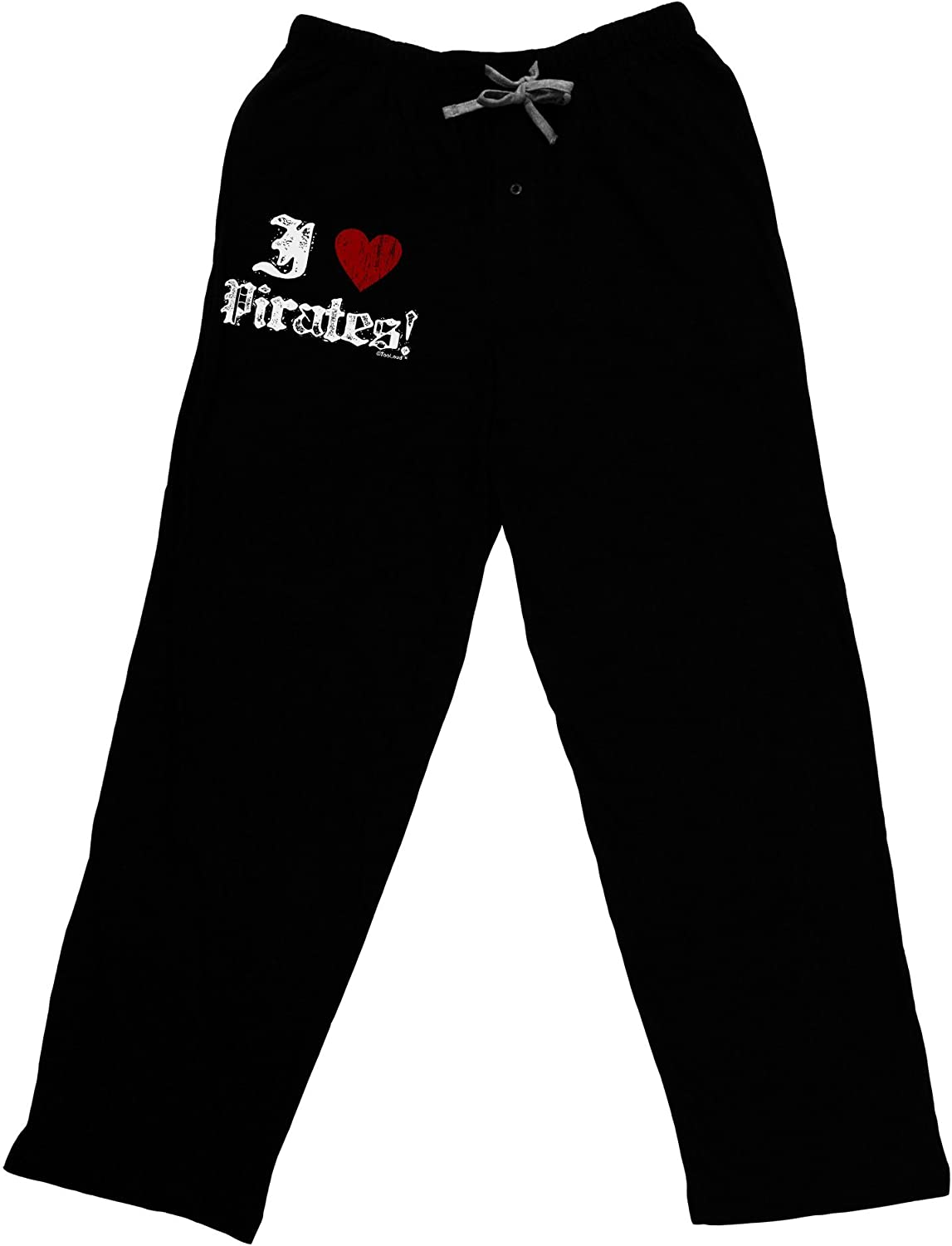 TOOLOUD I Heart Pirates Adult Lounge Pants