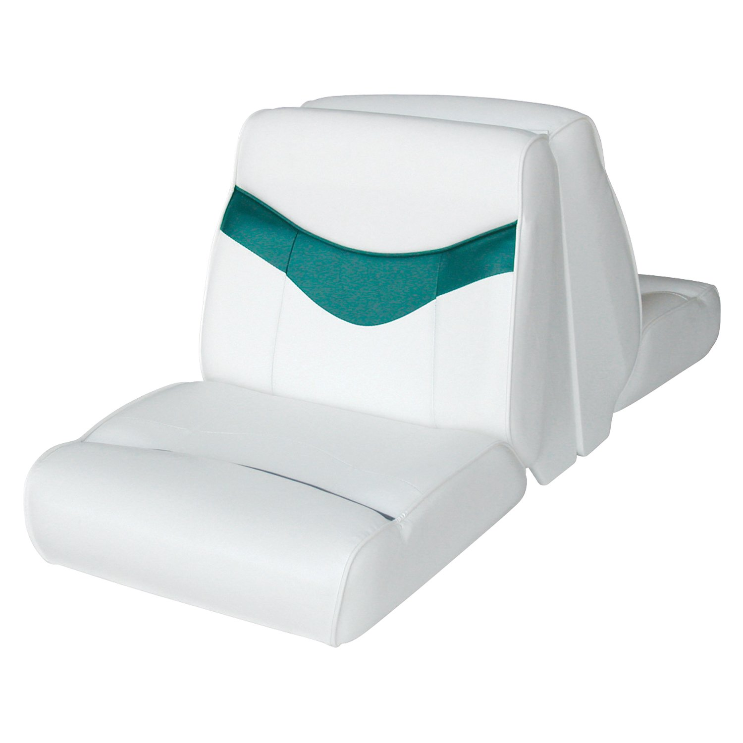 Wise Bayliner Capri Classic Lounge Seat Bright White 1987 Bowrider Wiring Diagram Hot Teal Sports Outdoors