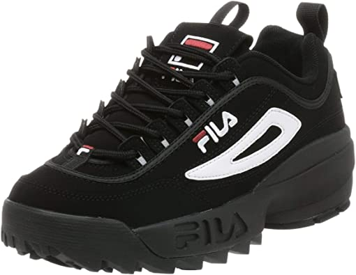 Fila Disruptor II Synthetic Classic Chunky Lace-Up Herren Trainer