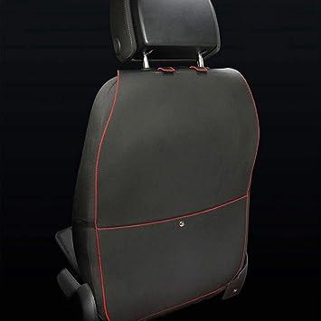 Hcmax 2 Pack Prämie Rückenlehnenschutz Auto Rückenlehne Schutz Wasserdicht Einfach Zu Säubern Multifunktional Veranstalter Aufbewahrungstasche Reisezubehör Pu Leder Auto