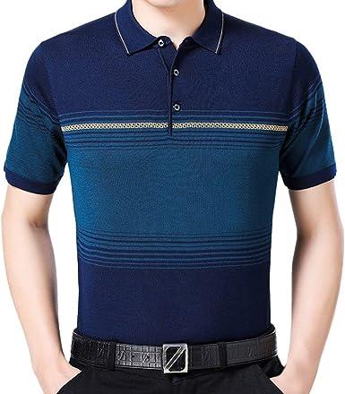 Camisa De Hombre De De Casual Polo Camisa Modernas Casual ...