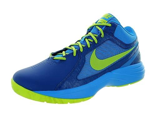 Nike Unisex The Overplay VIII Zapatillas Unisex Nike Color Azul/Lima Talla a6b97d