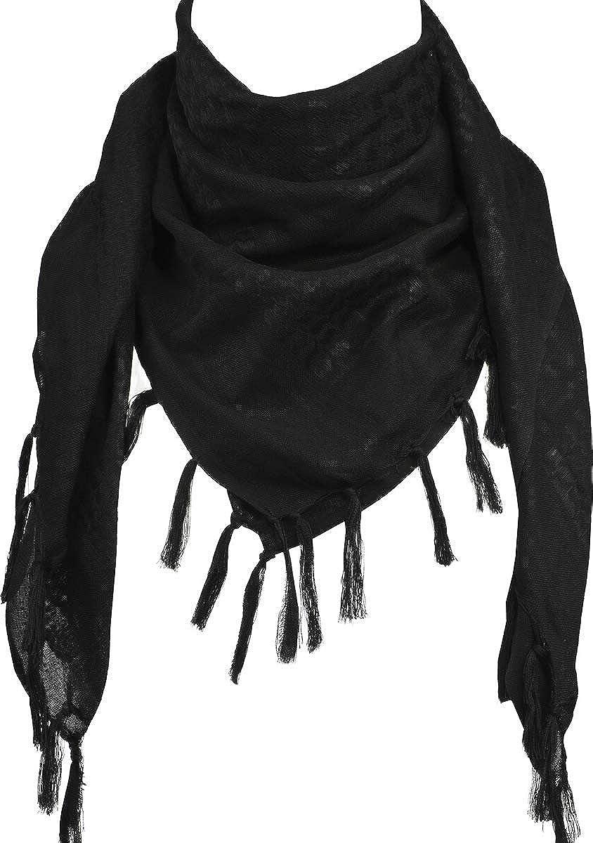 FFNIU Arabic Tactical Scarf Desert Shemagh Style Keffiyeh Military Neck Scarf 43 x 43-100/% Cotton