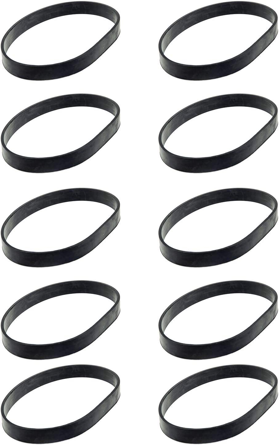 BIHARNT 10 Pack Replacement Belt Compatible with Bissell PowerForce Compact Lightweight Upright Vacuum Cleaner 1520 2112 Series. Compare to Part #1604896/160-4896