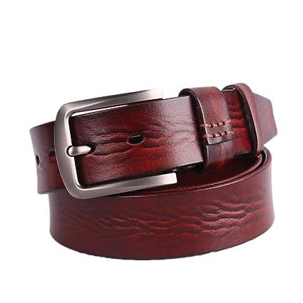 Caja de Cinturones Cinturón Styhatbag Vestir Genuino Hombre Cuero para  Hombres Regalo de de de Hebilla qvxUI c5597ad02d02