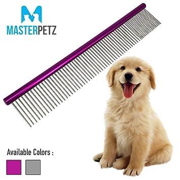 Amazon.com: My Pet Peine | la cómoda 7 O 10 inch Grooming ...