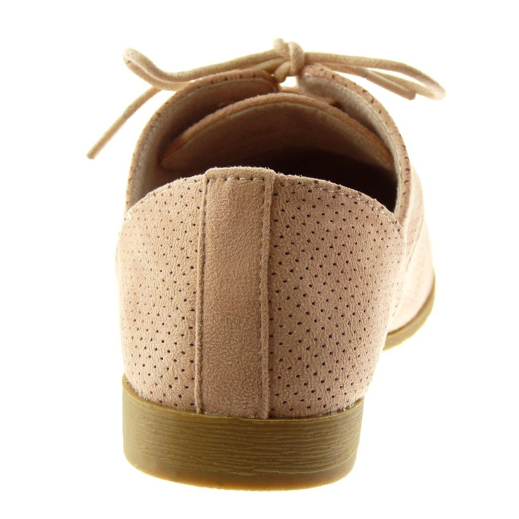 7c21893c32a903 Angkorly - Chaussure Mode Derbies Femme perforée Talon Bloc 2 CM:  Amazon.fr: Chaussures et Sacs