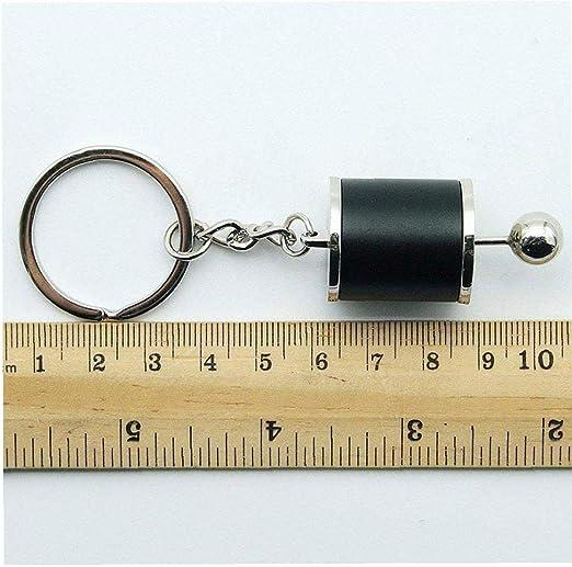 Kreative Autoteil Modell Getriebe Metall Schlüsselanhänger Schaltgetriebe Schalthebel Keyring Schwarz Koffer Rucksäcke Taschen