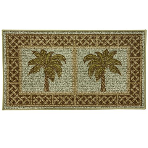 Classic Berber Accent Rug, Stain Resistant Rug, Skid Resistant, Rattan, 40