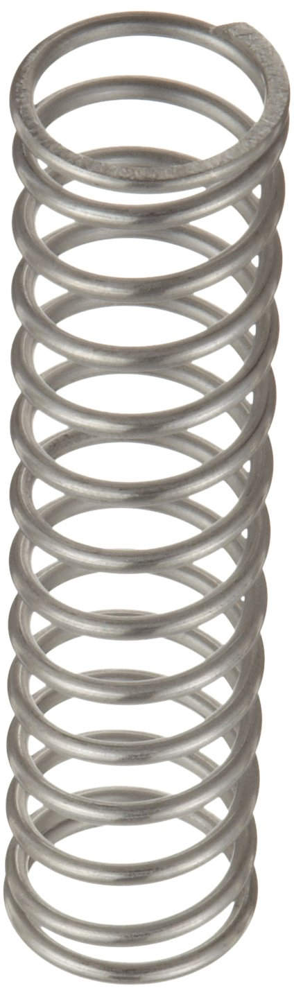 21.62 lbs Load Capacity 2.5 Free Length 0.975 OD 0.092 Wire Size 17.9 lbs//in Spring Rate 316 Stainless Steel Inch Compression Spring Pack of 10 1.293 Compressed Length