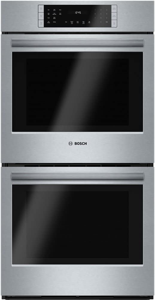 Bosch HBN8651UC 800 27'' Stainless Steel Electric Double Wall Oven