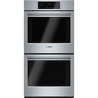 Amazon bosch hbn8651uc 800 27 stainless steel electric double bosch hbn8651uc 800 27quot stainless steel electric double wall oven convection planetlyrics Image collections