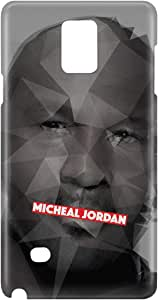 Loud Universe Galaxy Note 5 Michael Jordan Print 3D Wrap Around Case - Multi Color