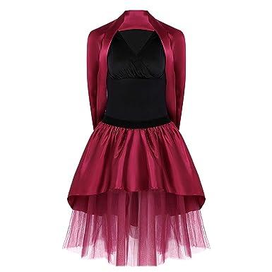 dluns - 2 Faldas de Ballet para Mujer, diseño clásico con tutú ...