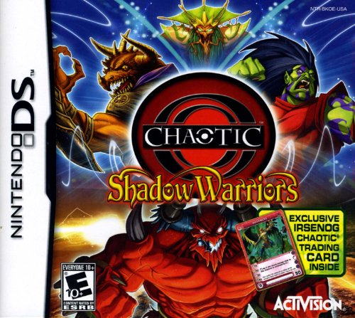 Chaotic NDS With Trading Card Amazonin Video Games - Docu games