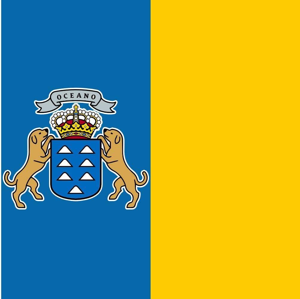 magFlags Bandera XXXS Canarias | Bandera Paisaje | 0.135m² | 30x45cm: Amazon.es: Jardín