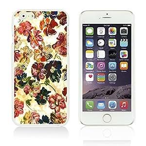 OnlineBestDigitalTM - Flower Pattern Hardback Case for Apple iPhone 6 Plus (5.5 inch) Smartphone - Colorful Oil Painting Floral