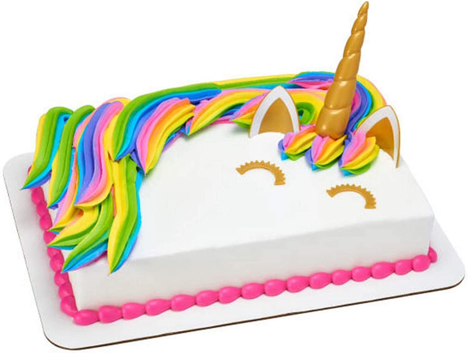 DecoPac Cake Decorating UNICORN CREATIONS Cake Topper for Birthdays and Parties