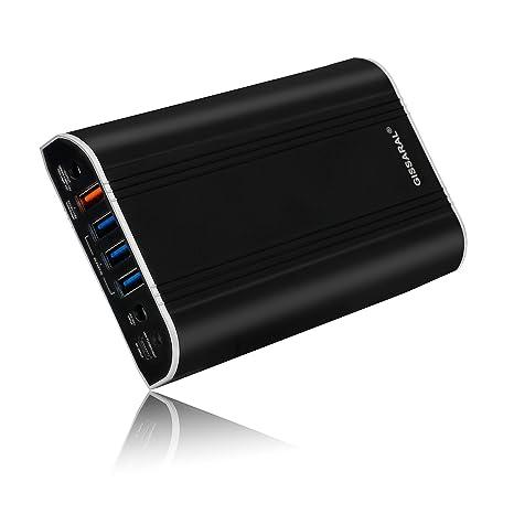 GISSARAL 24000mAh 90Wh Llevar Vuelo Power Bank Cargador batería Externa portátil para Surface Pro 4 Book