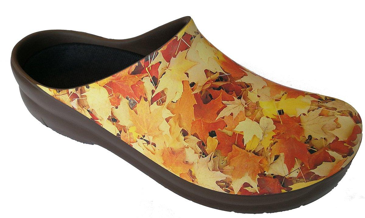 Alpro Jolly Picture Clog - Zapatos con hebilla para mujer 36 Estrecho|Marrón