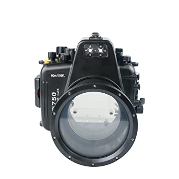 For Nikon D750 60m/195ft Sea frogs Underwater Camera: Amazon