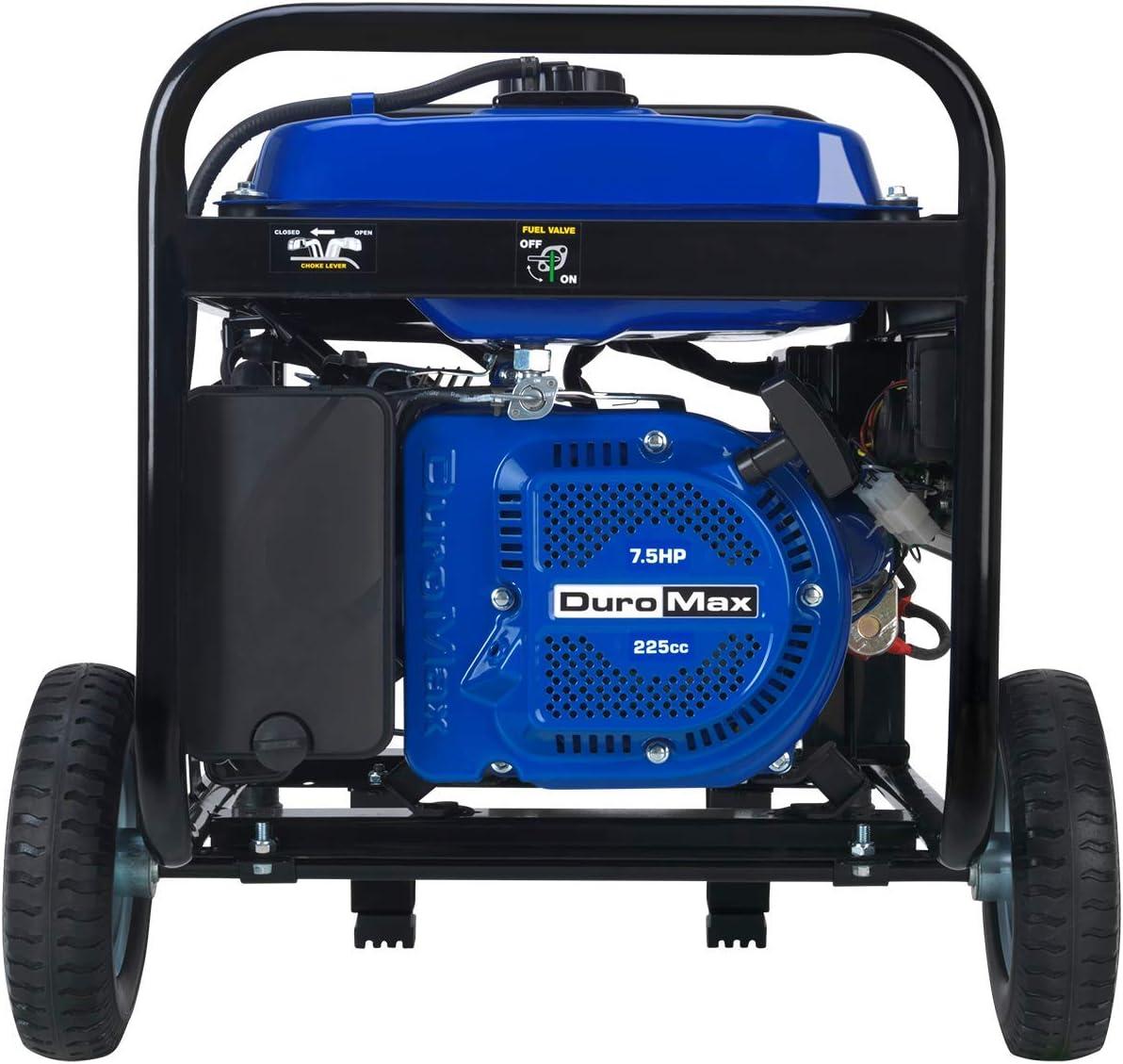 Amazon.com: DuroMax XP5500E generador portable a gasolina ...