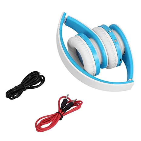 para Auriculares inalámbricos Bluetooth, Modo de conexión de Cable con Plegable Super Stereo Bajo Efecto