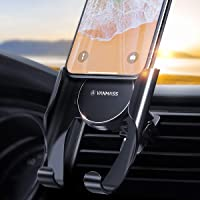 VANMASS Handyhalter fürs Auto Handyhalterung Lüftung mit Memory-Funktion Universale Kfz Smartphone Halterung Kompatibel mit iPhone 11 Pro MAX/XS/XR/X/8, Samsung Note 10+/S10+/S9, Huawei Mate20