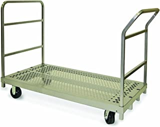 "product image for Raymond 3964 Steel Heavy Duty Platform Truck with 5"" x 2"" Phenolic Caster, 2400 lbs Capacity, 54"" Length x 30"" Width"