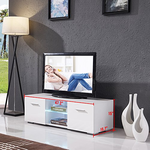 Review High Gloss TV Stand