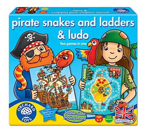 Pirates Snakes And Ladders And Ludo