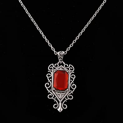 Hukai Isabelle Lightwoods Ruby Pendant Necklace The Mortal