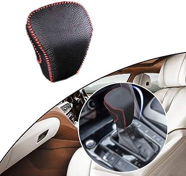 PU Leather Interior Gear Shift Knob Cover Trim For Alfa Romeo Giulia 2017 2018