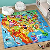 KC CUBS Playtime Collection USA United States Map