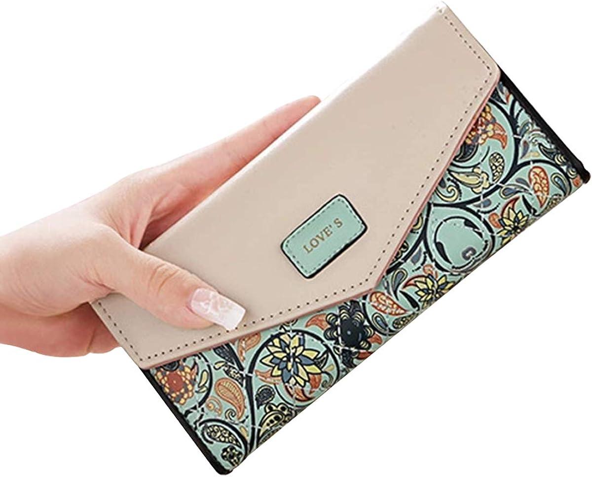 Women Long Wallet Coin Purse Card Holder Phone Bag Female Pouch Handbag Clutch Bag Party Tote Bag
