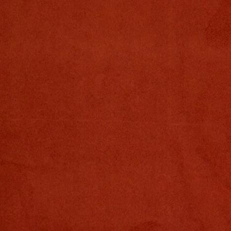 "Sold By The Yard Rust Micro Suede Upholstery and Drapery Fabric 60/"" Wide"