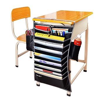 Hrph New Verstellbarer Tisch Book Organizer Tasche Für Schreibtisch